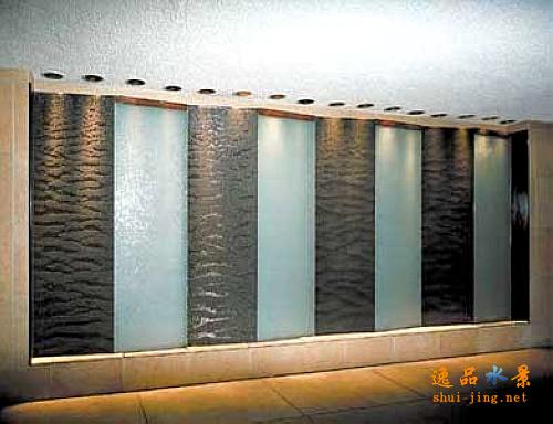 水幕墙效果图图片